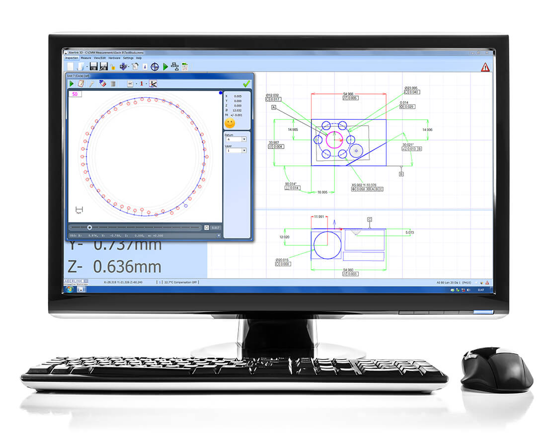 Aberlink Measurement Software